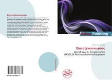Bookcover of Einsatzkommando