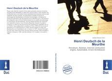 Bookcover of Henri Deutsch de la Meurthe