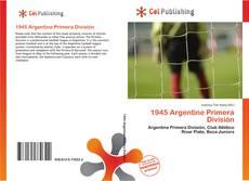 Bookcover of 1945 Argentine Primera División
