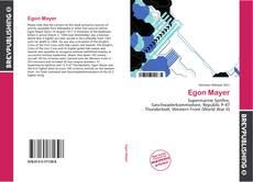 Capa do livro de Egon Mayer