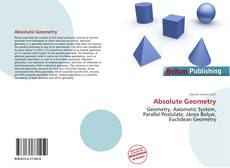 Bookcover of Absolute Geometry