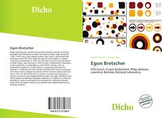 Обложка Egon Bretscher