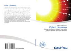 Capa do livro de Egbert Hayessen
