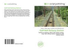 Golf Halt Railway Station kitap kapağı