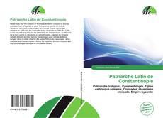 Bookcover of Patriarche Latin de Constantinople