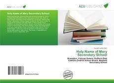 Обложка Holy Name of Mary Secondary School