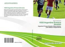 Bookcover of 1935 Argentine Primera División