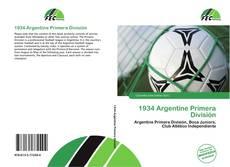 Bookcover of 1934 Argentine Primera División