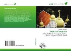 Bookcover of Mahra Sultanate