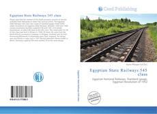 Portada del libro de Egyptian State Railways 545 class