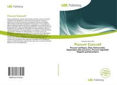 Bookcover of Pouvoir Exécutif