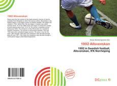Bookcover of 1992 Allsvenskan