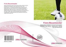 Bookcover of Frans Bouwmeester