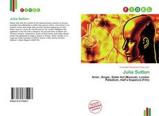Couverture de Julia Sutton