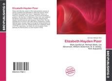Capa do livro de Elizabeth Hayden Pizer