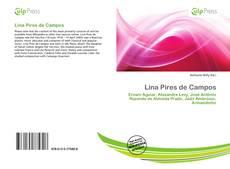 Capa do livro de Lina Pires de Campos