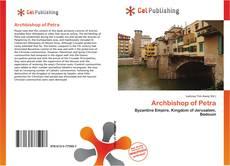 Обложка Archbishop of Petra