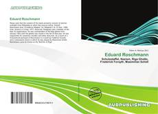 Bookcover of Eduard Roschmann