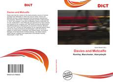 Bookcover of Davies and Metcalfe