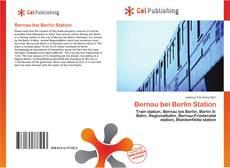 Bookcover of Bernau bei Berlin Station