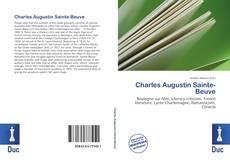 Portada del libro de Charles Augustin Sainte-Beuve