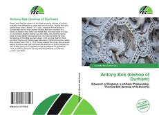 Antony Bek (bishop of Durham)的封面