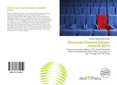 Bookcover of American Cinema Editors Awards 2010