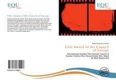 Capa do livro de Film Award of the Council of Europe