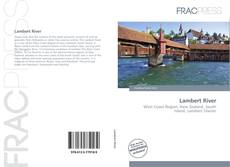 Bookcover of Lambert River