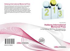 Bookcover of Holberg International Memorial Prize
