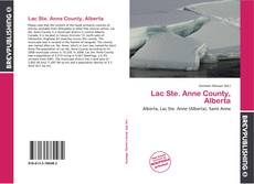 Bookcover of Lac Ste. Anne County, Alberta