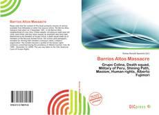 Borítókép a  Barrios Altos Massacre - hoz