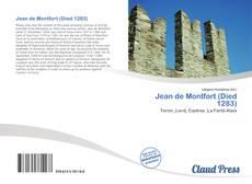 Buchcover von Jean de Montfort (Died 1283)