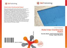 Bookcover of Hotel Inter-Continental Kabul
