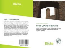 Portada del libro de Louis I, Duke of Bavaria