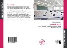 Bookcover of David Kato