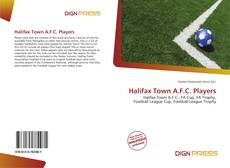 Capa do livro de Halifax Town A.F.C. Players