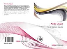 Portada del libro de Acide urique