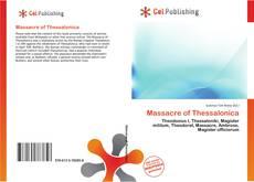 Buchcover von Massacre of Thessalonica