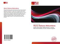 Portada del libro de Maria Dolores Malumbres