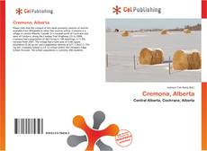Bookcover of Cremona, Alberta