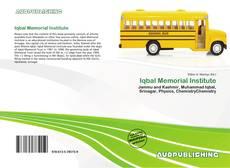 Bookcover of Iqbal Memorial Institute
