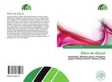 Bookcover of Éther de Glycol