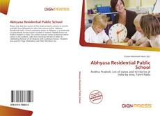 Bookcover of Abhyasa Residential Public School