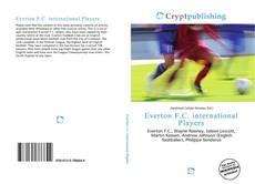 Capa do livro de Everton F.C. international Players