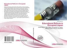 Portada del libro de Educational Reform in Occupied Japan