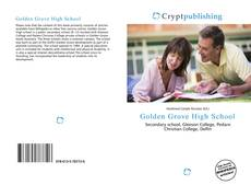 Bookcover of Golden Grove High School