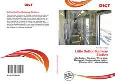 Portada del libro de Little Sutton Railway Station