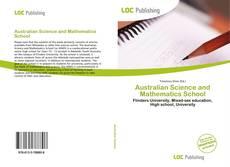 Обложка Australian Science and Mathematics School