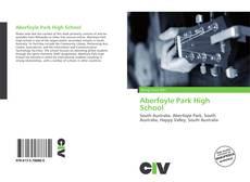 Borítókép a  Aberfoyle Park High School - hoz